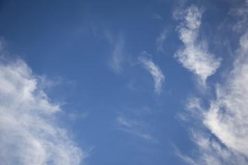 cloudscape - cheerful blue