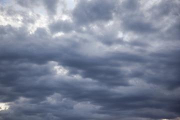 cloudscape - rain clouds