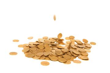 Rain of golden coins