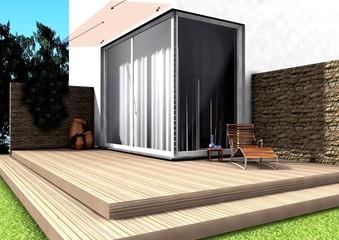 3d terrasse