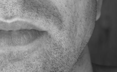 bouche d'homme