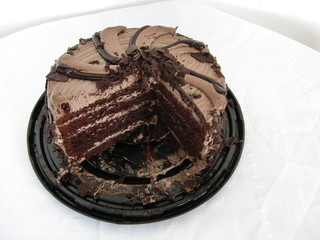 Chocolate Birthday Cake.