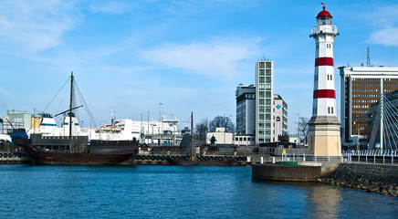 Port de Malmö en Suède