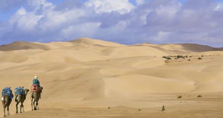 nomade dans le désert