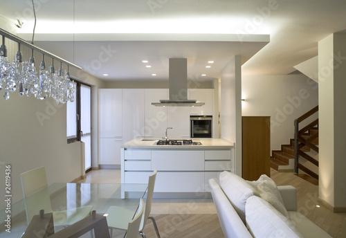 Interno di casa moderna immagini e fotografie royalty for Interni casa moderna