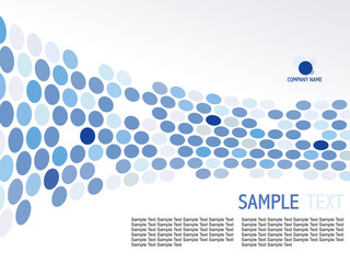 abstract moasic blue background