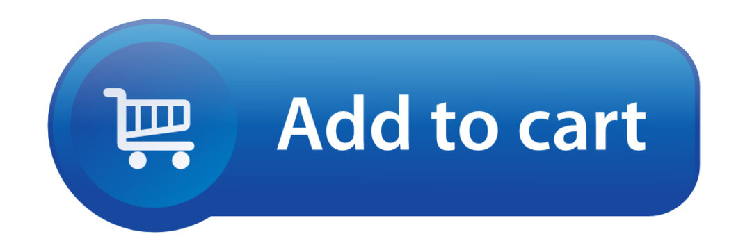 ADD TO CART Web Button (buy now order online shopping cart icon)