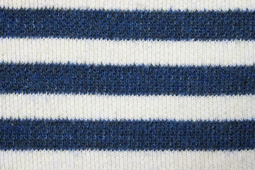 Striped knitted fabric