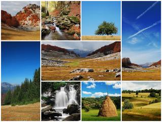 landscape montage