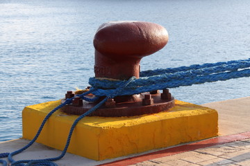 Pier auf der Insel Cozumel
