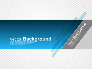 Blu Vector Banner Background