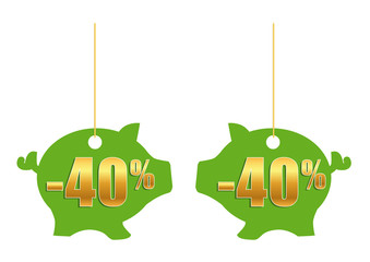 Cochon 40%_Vert