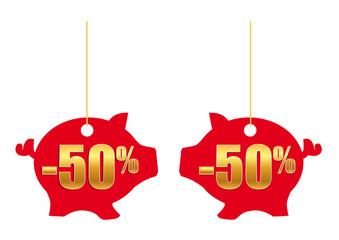 Cochon 50%_Rouge