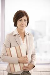Portrait of mature professional woman