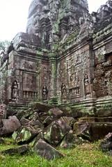Ruined temple, Cambodia