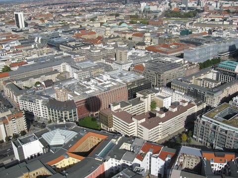Deutschland Berlin aus der Vogelperspektive