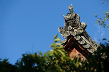 東寺 鬼瓦
