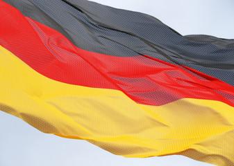 Deutschland Flagge im Wind - German Flag