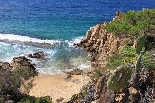 Crique de Propriano en Corse