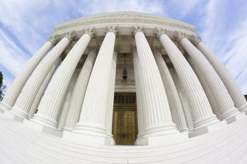 United States Supreme Court Building (fisheye)