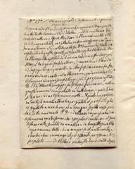Testamento scritto a mano