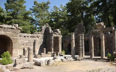 Ruinen, Alexander der Große
