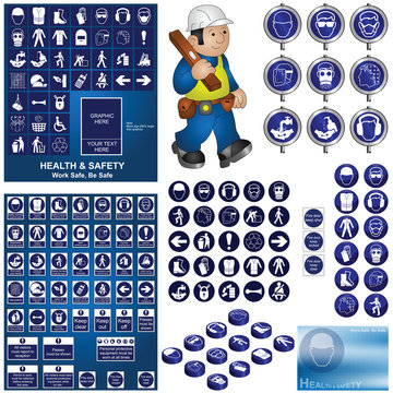 Construction and building health and safety collection