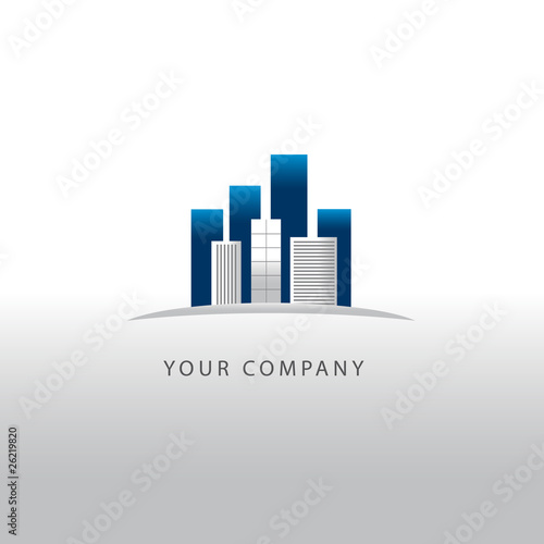 image logo entreprise batiment