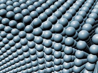 Array of spheres
