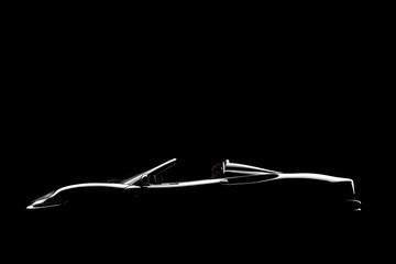 Black lateral car