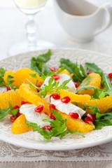 Orange and cheese salad