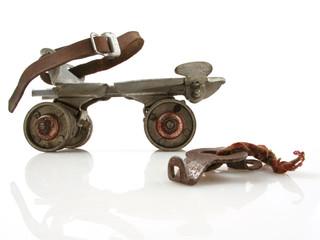 Vintage Roller Skate with Key