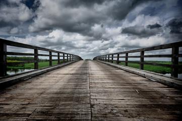 Obraz most w Dolistowie - fototapety do salonu