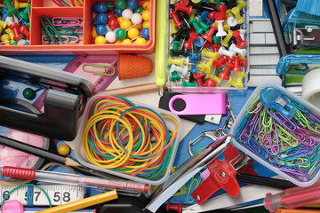 Background Inhabitants of the Stationery Drawer Background