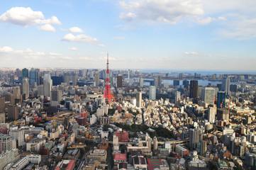 TOKYO vue de la tour mori