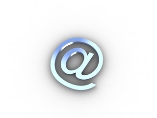 Abstract E-mail symbol