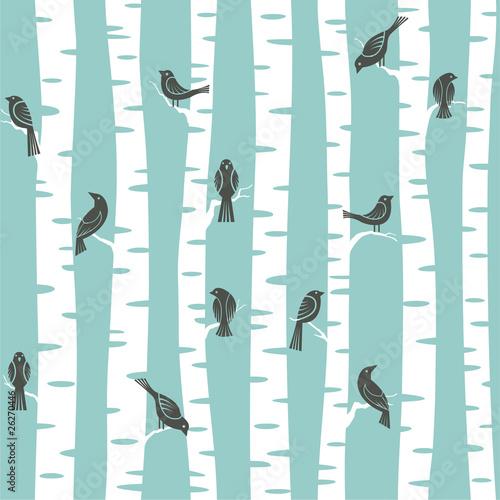 Trees pattern stockfotos und lizenzfreie vektoren auf bild 26270446 - Fotomurales pixel ...