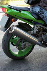Scooter Sport bike.