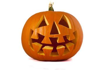 Scary Jack O Lantern Pumpkin.