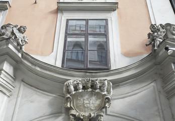 Historische Hausfassade