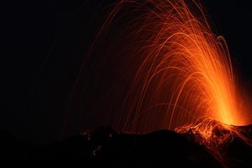 Poster Volcano volcano eruption