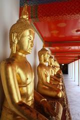 Buddha at Wat Pho Mangklaram unblemished.