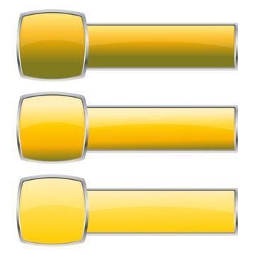 yellow button set