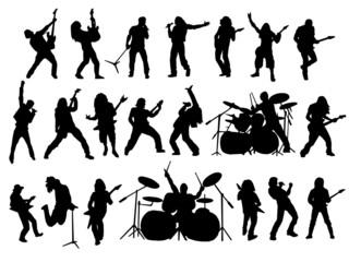 rock and metal vector collection