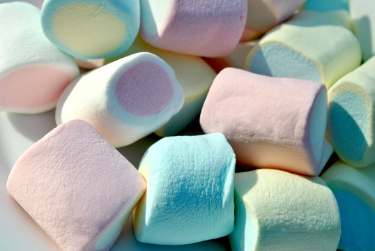 Colourful Marshmellows