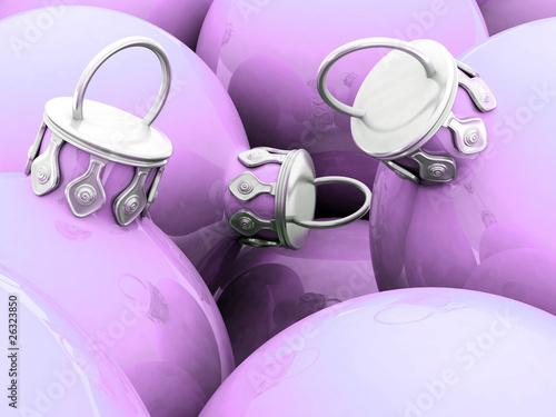 Weihnachtskugeln 02 pastell lila stockfotos und lizenzfreie bilder auf bild 26323850 - Weihnachtskugeln pastell ...