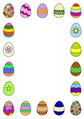 Egg border