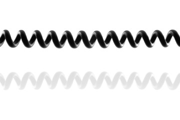 Spiral Telephone Cable