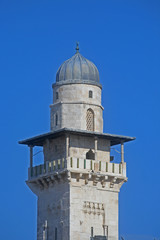 Minaret in the Old City of Jerusalem