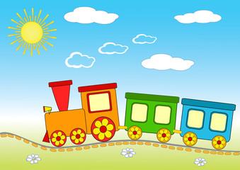 Baby train.